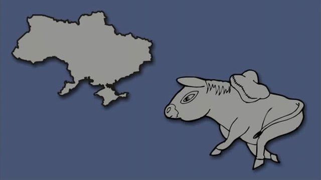 Італія – чобіт, а Франція  – сова: блогер перемалював карту Європи - фото 346437