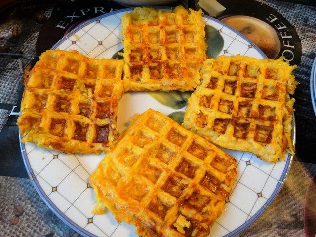 Рецепт кабачкових вафель  - фото 346604