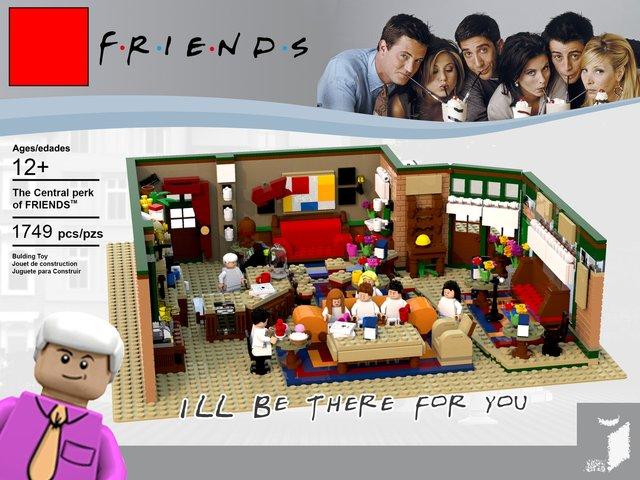 З'явився конструктор Lego за мотивами серіалу ДРУЗІ: зацініть кумедні фігурки - фото 346618