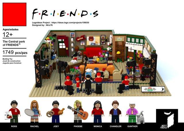 З'явився конструктор Lego за мотивами серіалу ДРУЗІ: зацініть кумедні фігурки - фото 346619
