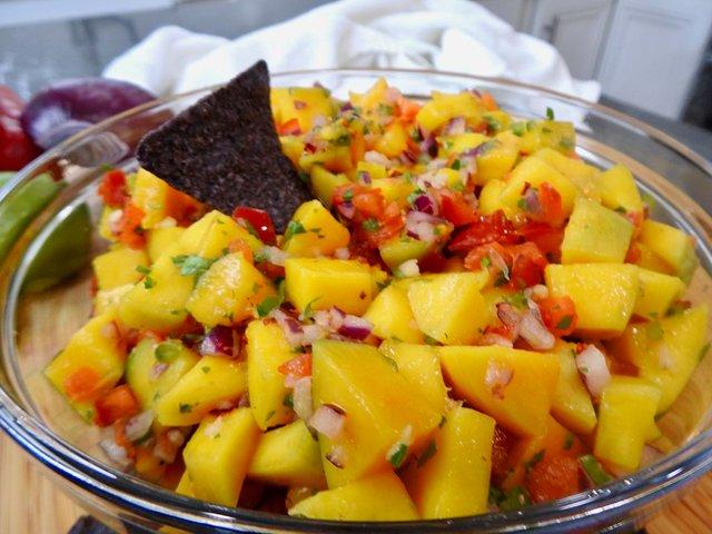 Салат з манго  - фото 346659