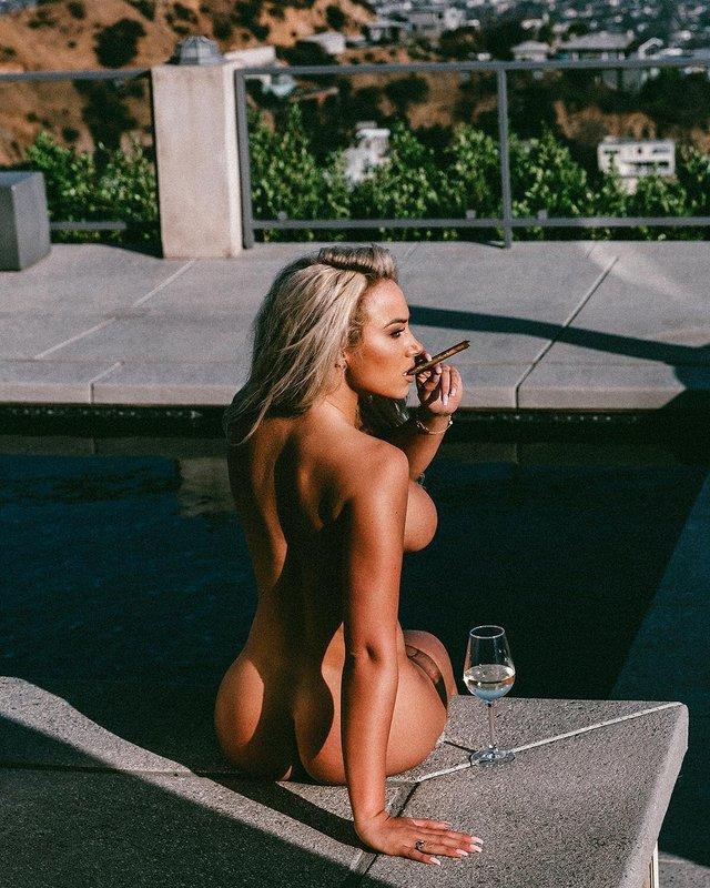 Дівчина тижня: розкута пишногруда австралійська модель Джорджина Джентл (18+) - фото 346741