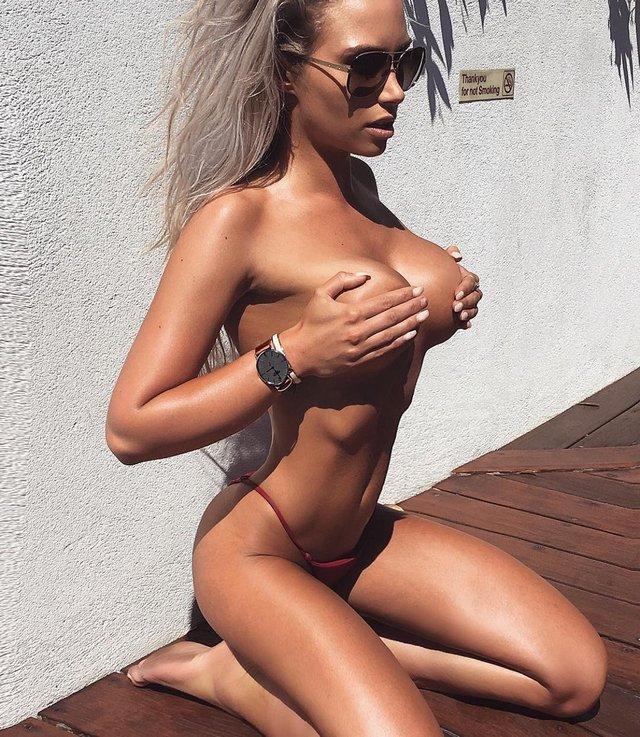 Дівчина тижня: розкута пишногруда австралійська модель Джорджина Джентл (18+) - фото 346750