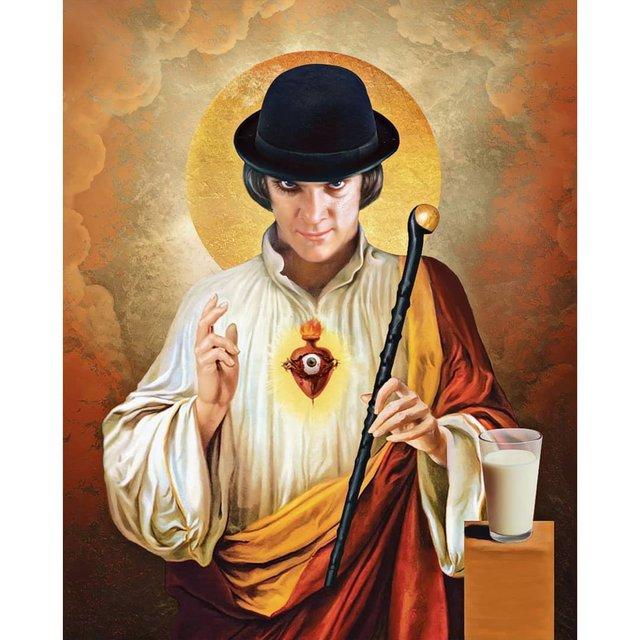 Справжні апостоли: митець перетворює відомих персонажів кіно на святих - фото 346779