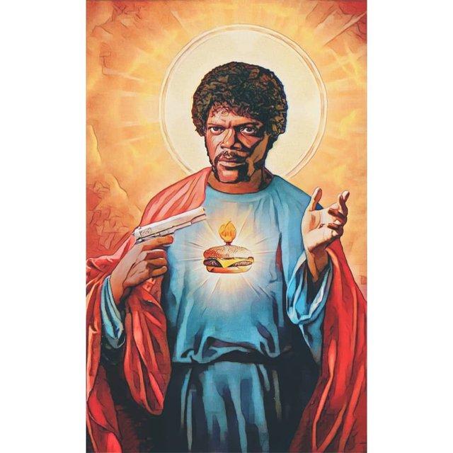Справжні апостоли: митець перетворює відомих персонажів кіно на святих - фото 346780
