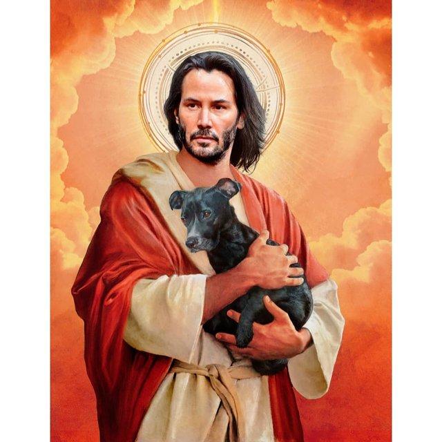 Справжні апостоли: митець перетворює відомих персонажів кіно на святих - фото 346781