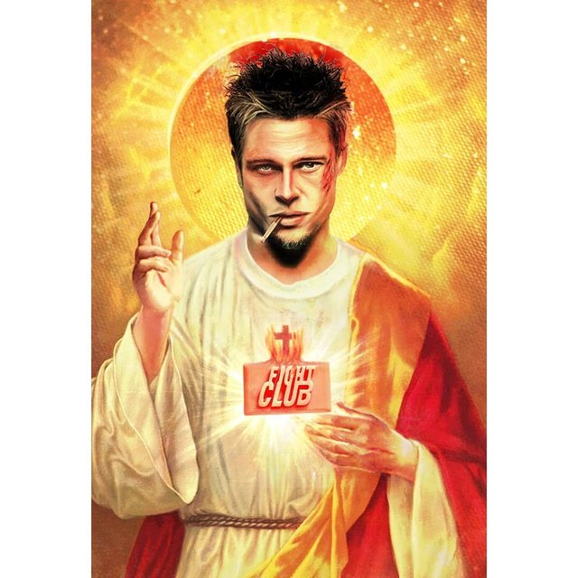 Справжні апостоли: митець перетворює відомих персонажів кіно на святих - фото 346783