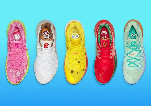 Колекція SpongeBob SquarePants x Nike Kyrie - фото 347070