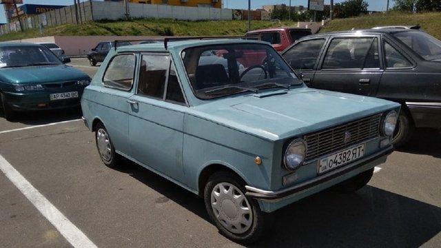 В Україні бачили рідкісне саморобне авто Азов - фото 347162