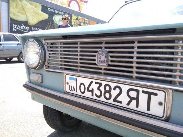 В Україні бачили рідкісне саморобне авто Азов - фото 347163