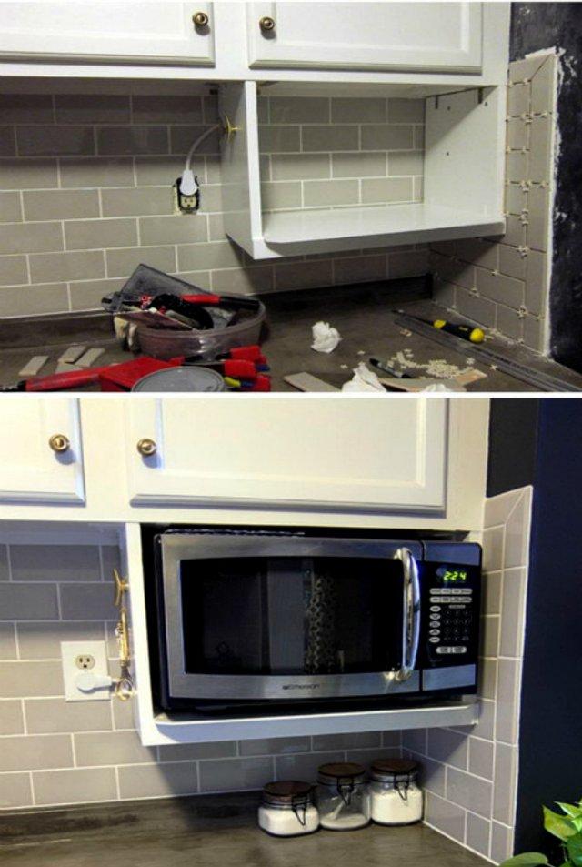 Як звільнити місце на кухні: практичні поради у фото - фото 347257