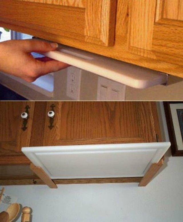 Як звільнити місце на кухні: практичні поради у фото - фото 347260