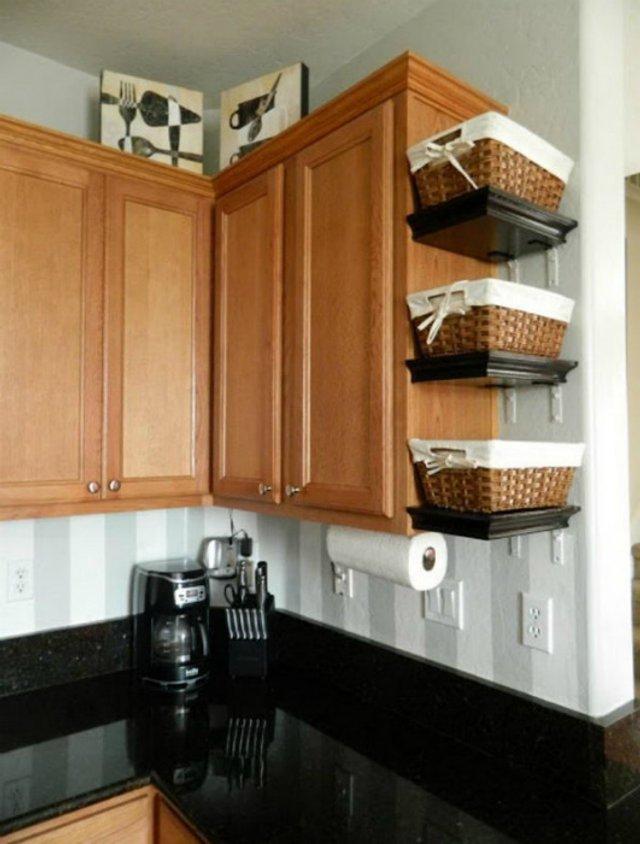 Як звільнити місце на кухні: практичні поради у фото - фото 347261