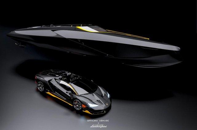 Так міг би виглядати швидкісний катер з дизайном Lamborghini - фото 347557