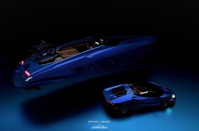 Так міг би виглядати швидкісний катер з дизайном Lamborghini - фото 347560