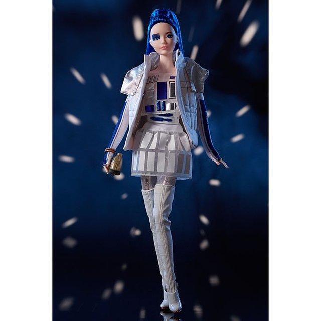 Зоряні війни для дівчаток: з'явились незвичайні ляльки Барбі - фото 347725