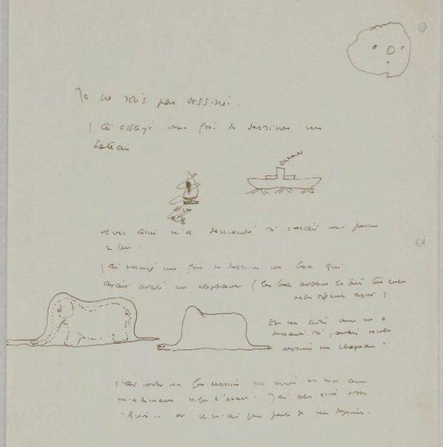 У Швейцарії знайшли невідомі ілюстрації Сент-Екзюпері до Маленького принца - фото 348189
