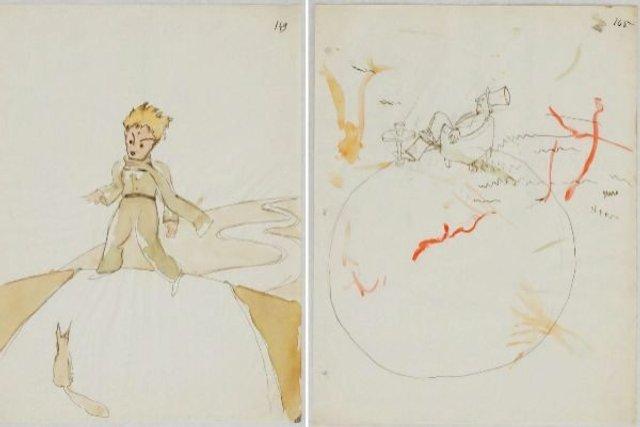 У Швейцарії знайшли невідомі ілюстрації Сент-Екзюпері до Маленького принца - фото 348190