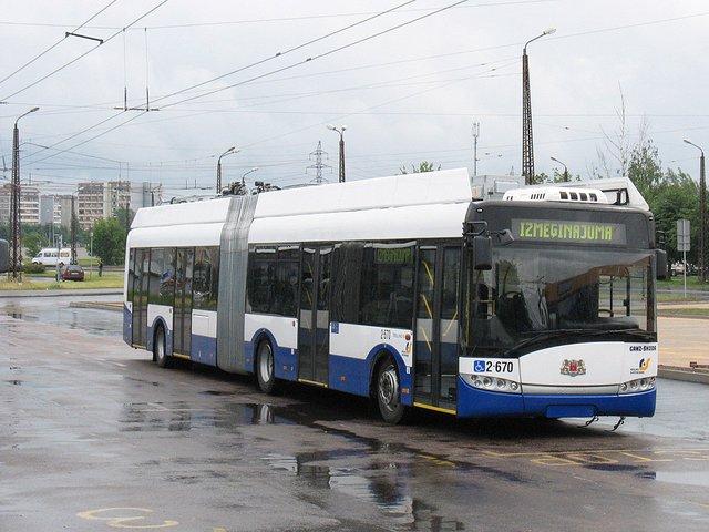 Рига замінить тролейбус екологічними автобусами - фото 348595