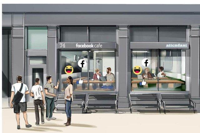 Facebook відкриє мережу кафе: до чого тут особисті дані користувачів - фото 348756
