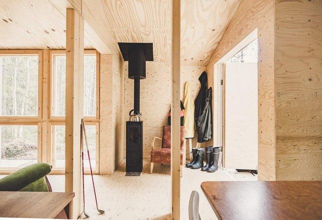Фінські студенти власноруч створили ідеальний дім у лісі: вражаючі фото - фото 349184