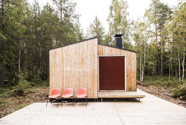 Фінські студенти власноруч створили ідеальний дім у лісі: вражаючі фото - фото 349187