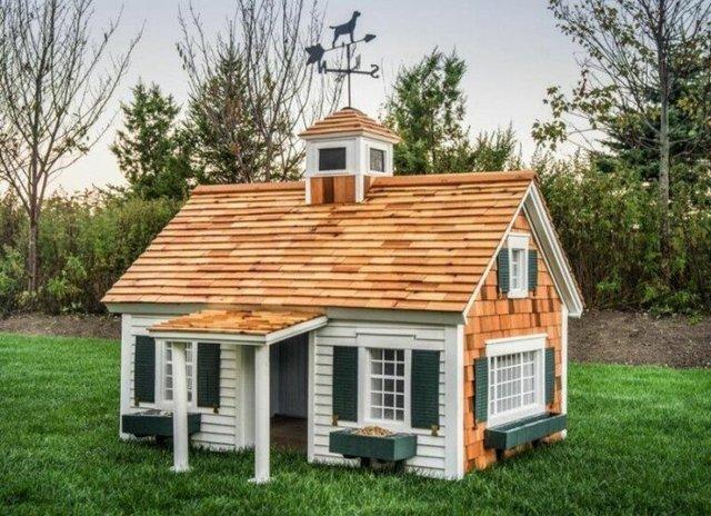 Ці будки для собак виглядають краще, ніж ваш дім - фото 349253