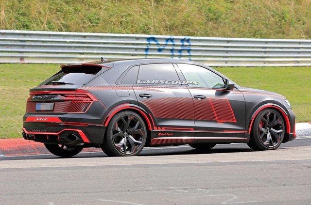 Зовнішність 'зарядженого' кросовера Audi RS Q8 розсекретили до прем'єри - фото 349295