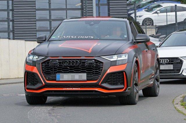 Зовнішність 'зарядженого' кросовера Audi RS Q8 розсекретили до прем'єри - фото 349296