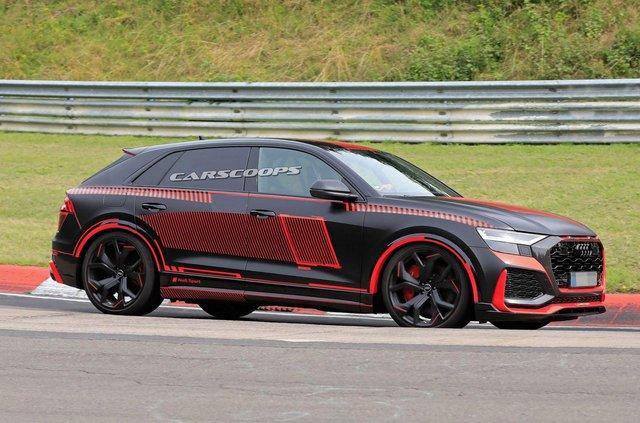 Зовнішність 'зарядженого' кросовера Audi RS Q8 розсекретили до прем'єри - фото 349298