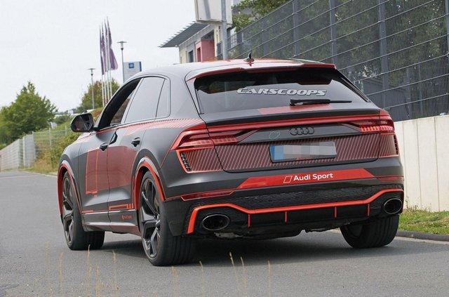 Зовнішність 'зарядженого' кросовера Audi RS Q8 розсекретили до прем'єри - фото 349299