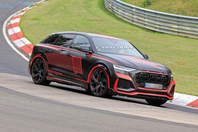 Зовнішність 'зарядженого' кросовера Audi RS Q8 розсекретили до прем'єри - фото 349300