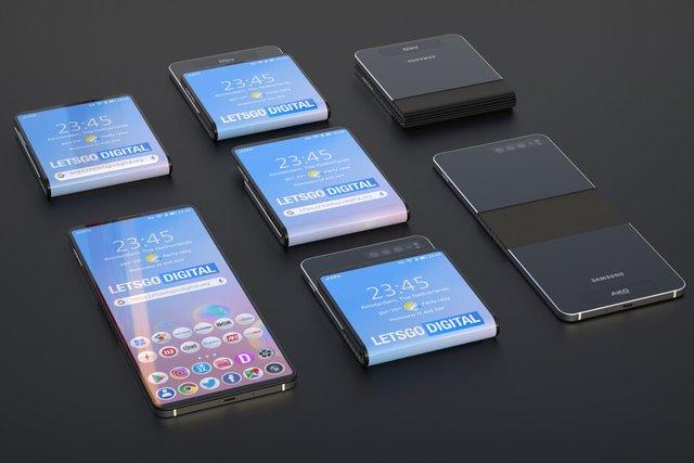 Samsung запатентувала альтернативу 'розкладачки' Motorola RAZR - фото 349354