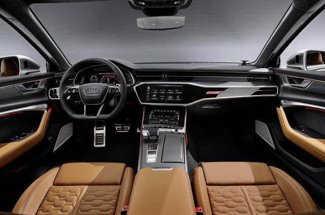 Audi показала новий 600-сильний універсал - фото 349365