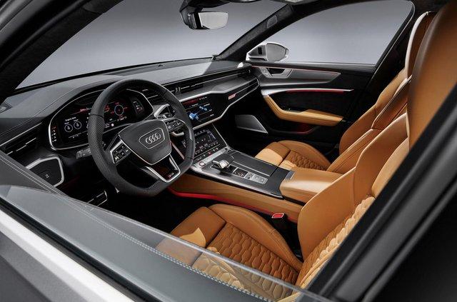 Audi показала новий 600-сильний універсал - фото 349366