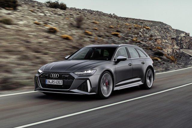 Audi показала новий 600-сильний універсал - фото 349367