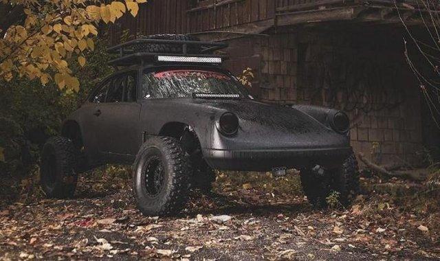 Porsche 911 перетворили в унікальний позашляховий баггі - фото 349654