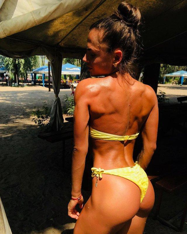 Дівчина тижня: Юлія Мішура – гаряча українська фітнес-модель з неймовірними формами (18+) - фото 350110