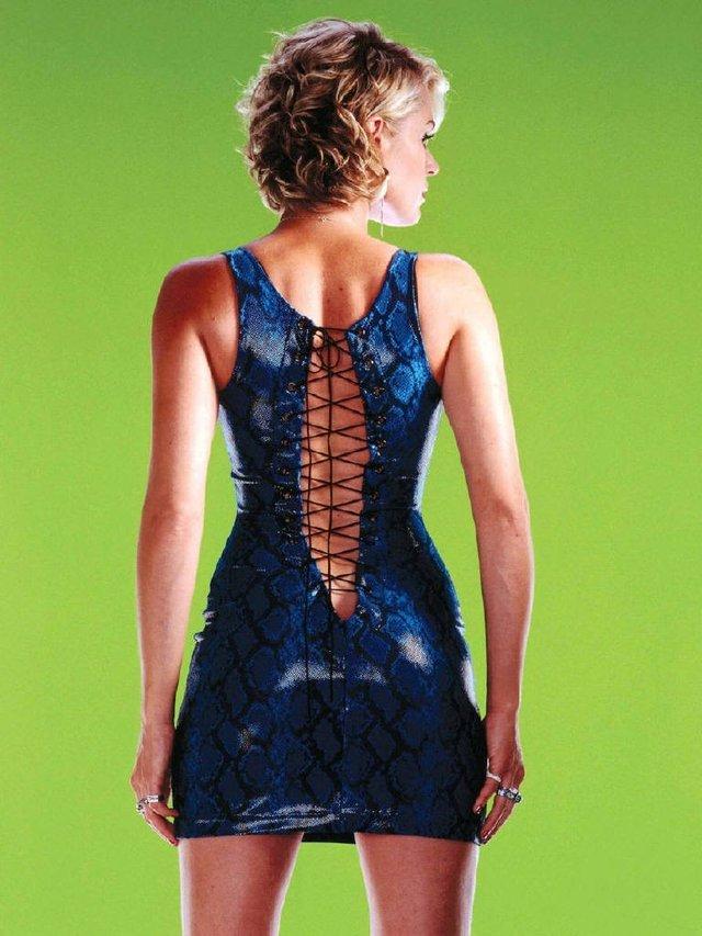 Моделі 90-х: як змінилася білява амазонка Ребека Ромейн (18+) - фото 350588