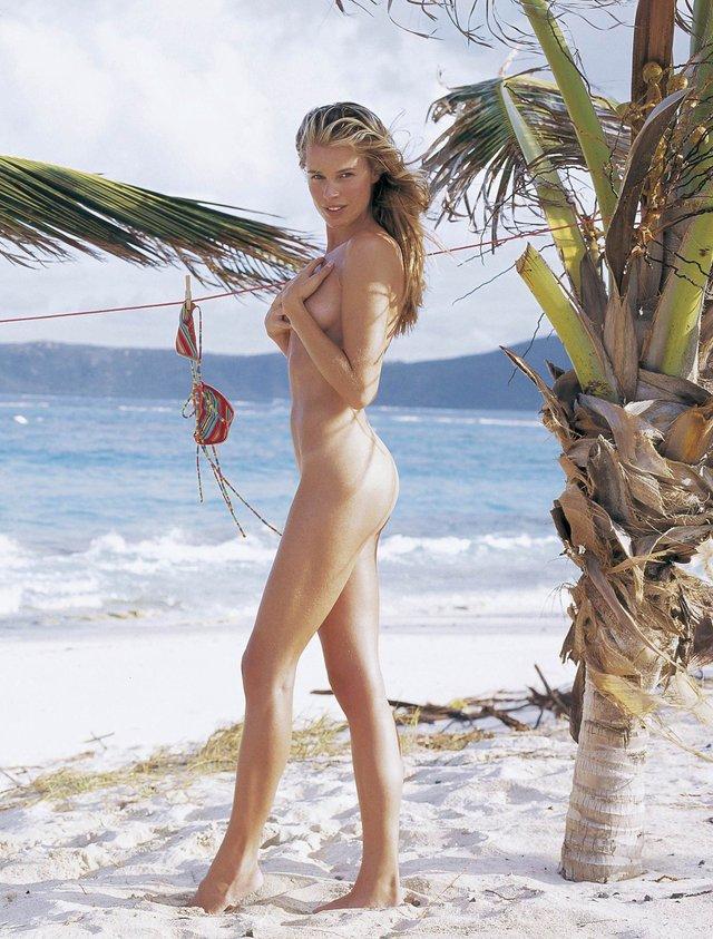Моделі 90-х: як змінилася білява амазонка Ребека Ромейн (18+) - фото 350594