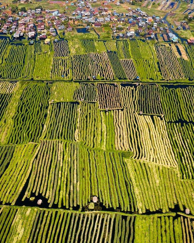 Вражаючі фото світу з висоти пташиного польоту: яскраві кадри - фото 350651