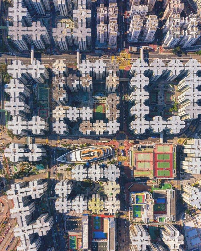 Вражаючі фото світу з висоти пташиного польоту: яскраві кадри - фото 350653