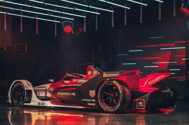 Porsche представила електричний болід для дебютного сезону у Формулі-Е - фото 350998