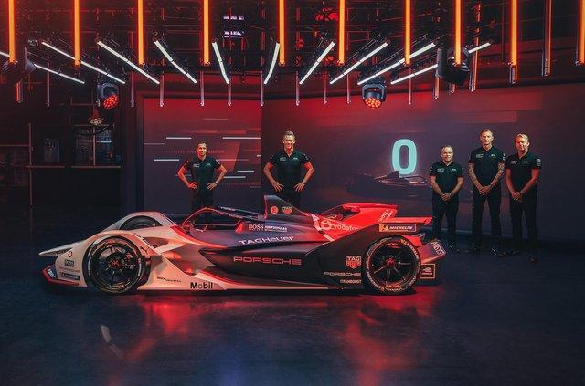Porsche представила електричний болід для дебютного сезону у Формулі-Е - фото 350999