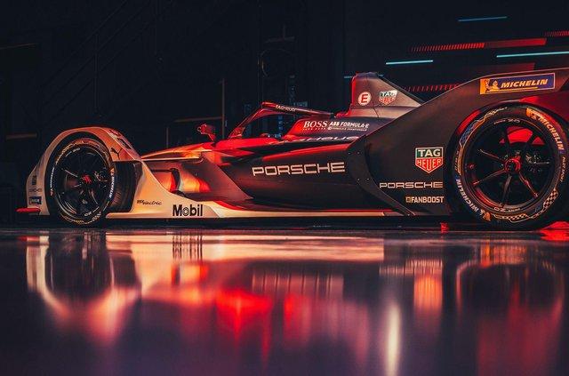 Porsche представила електричний болід для дебютного сезону у Формулі-Е - фото 351000