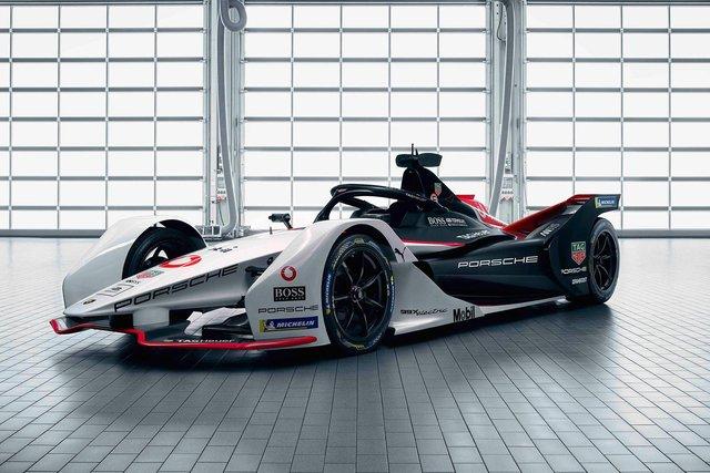 Porsche представила електричний болід для дебютного сезону у Формулі-Е - фото 351001