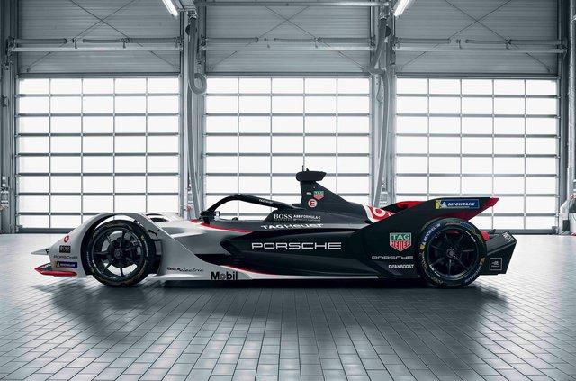 Porsche представила електричний болід для дебютного сезону у Формулі-Е - фото 351002