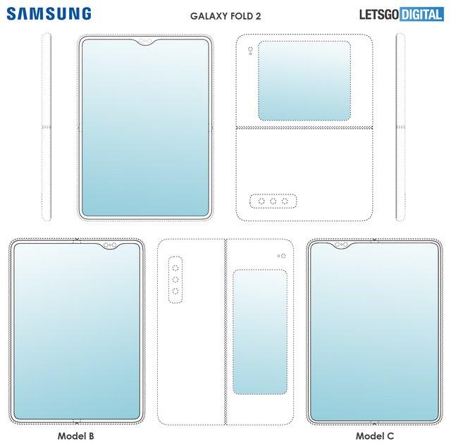Samsung запатентувала Galaxy Fold 2 - фото 351058