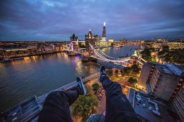 Руфер показує найефектніші краєвиди Лондона: яскраві фото - фото 351433