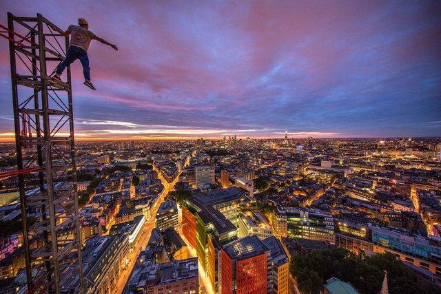 Руфер показує найефектніші краєвиди Лондона: яскраві фото - фото 351436